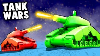 EPIC TANK WARS! Destroying Enemies with the BEST Weapons! (Shellshock Live Gameplay)