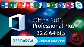 Como Descargar Microsoft Office Professional Plus 2016 Full En Español [32 y 64 bits] [Mediafire]