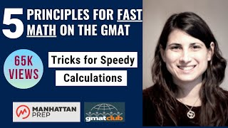 GMAT Club Live: 5 Principles for Fast Math on the GMAT
