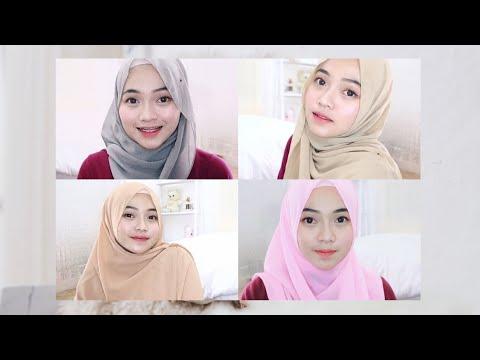 Contoh Soal Dan Materi Pelajaran 4 Model Hijab Pashmina Sabyan