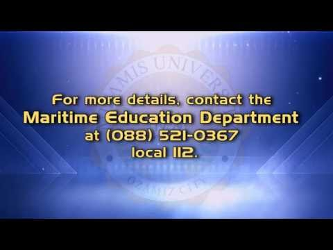 Misamis University is now accepting enrollment for Maritime Engineering