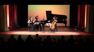 ATOS Trio: Mendelssohn - Piano Trio No.1 in d-minor, op.49 - II Andante - live
