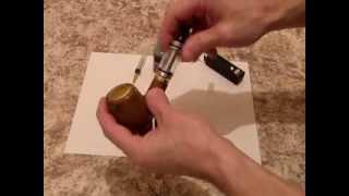 E-Pipe 618 (электронная трубка) и атомайзер от электронной сигареты 510 DCT 6 ml(, 2013-11-28T12:41:55.000Z)