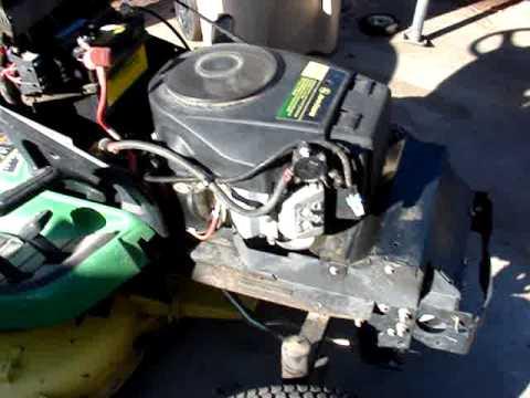 John Deere Gator Engine Diagram Mov00005 17hp Kawasaki From X300 John Deer Lawn Tractor O6