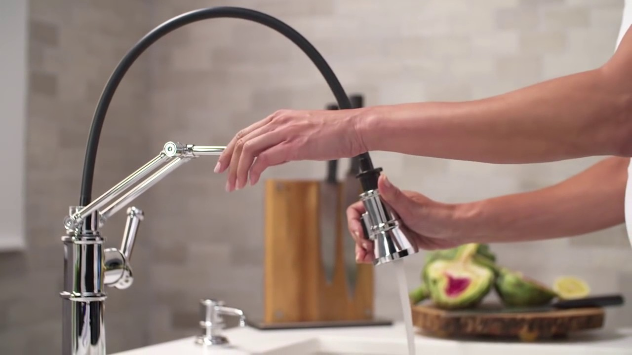Articulating Kitchen Faucet Flooring Trends The By Brizo Youtube