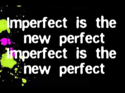 Caitlin Crosby - Imperfect is the New Perfect Lyrics