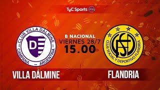 Villa Dálmine vs Flandria full match