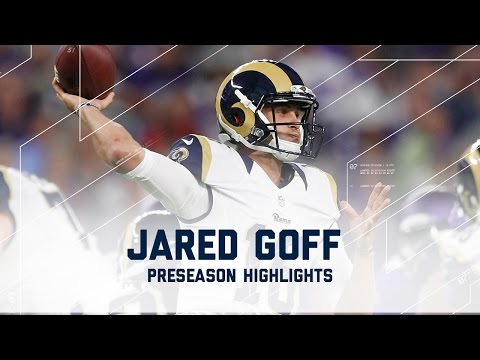 Every Jared Goff Throw from Week 4 | Rams vs. Vikings | NFL 2016 Preseason Highlights
