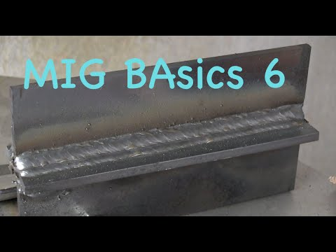 Flux Core Welding Wire >> MIG Welding Basics part 6 Tee Joint Drill - YouTube