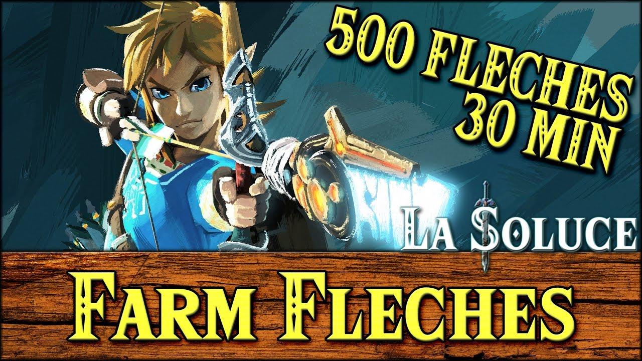 FARM FLECHES 500 EN 30MIN - FARMING ARROW - ASTUCE - ZELDA