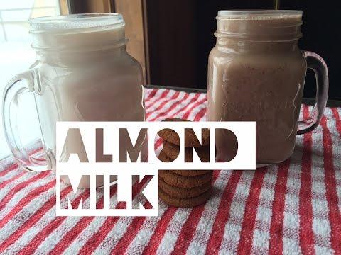 Healthy Almond Milk Recipe   How To Make Almond Milk & Almond Flour