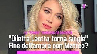 Diletta Leotta torna single