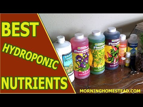 Top 5 Best Hydroponic Nutrients For Healthy Growth (2019)