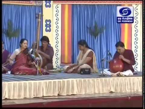 Lalitha Raghavan Violin 05 SindhuBhairavi Karunai deivame M T Srinivasan