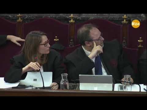 Marchena recrimina a Marina Roig, advocada de Jordi Cuixart, que no calia fer visionat del vídeo
