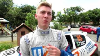 Michel Mueller   Após SS4   Rally de Pomerode 2016
