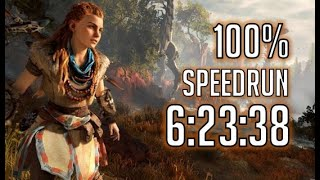 Horizon Zero Dawn Speedrun: 100% in 6:23:38 [World Record]