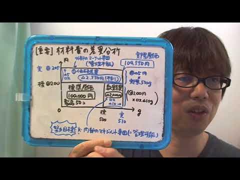 コストの管理可能性を考える材料費の原価差異~簿記2級
