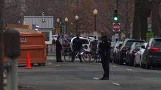 Carro se choca com barreira próxima à Casa Branca thumbnail