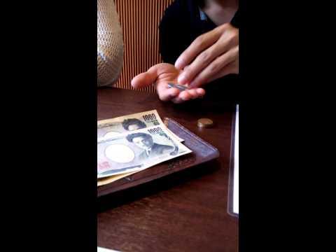นับเงินเยนจ่ายไม่ใช่เงินร้อน japan Yen to pay at Fukuoka