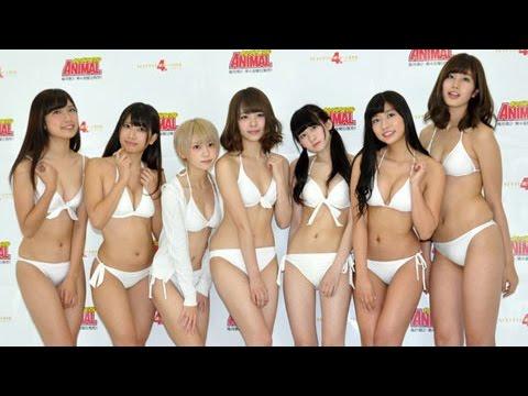 注目の美少女アイドルがグランプリを争う「NEXT グラビアクイーンバトル 4thシーズン」候補者お披露目会見