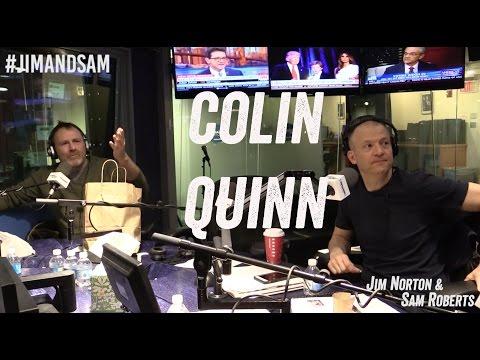 Colin Quinn in studio - UFC 205, Funny Photoshops, + more - Jim Norton & Sam Roberts