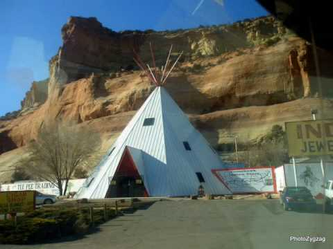 LUPTON INDIAN RESERVATION, ARIZONA.
