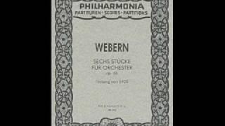 Anton Webern, Sechs Stücke für Orchester op. 6