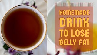 Homemade flat belly drink||How to lose belly fat||