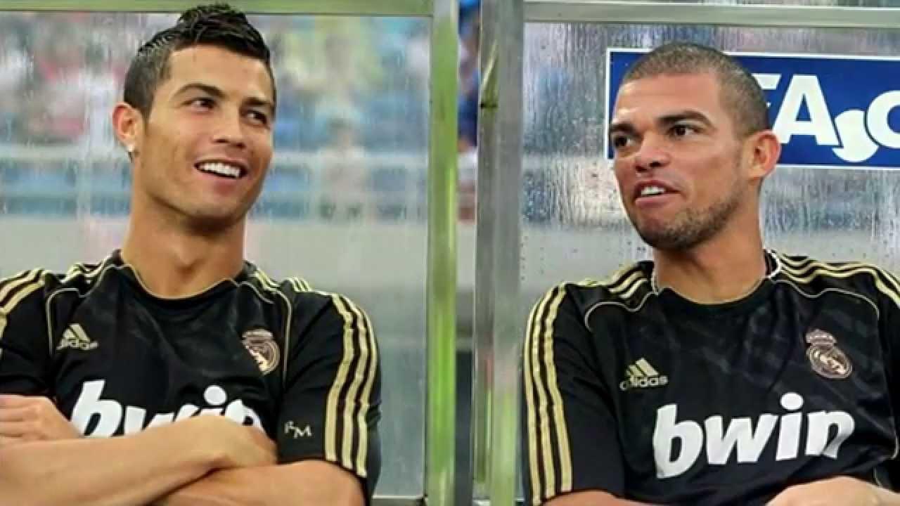 95d7cd22f Cristiano Ronaldo   Pepe best friends forever - YouTube
