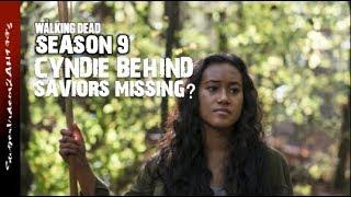Cyndie Behind Saviors Missing?    The Walking Dead Season 9