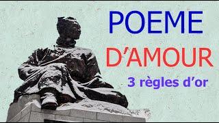 3 Règles D'or Pour écrire Un Poème D'amour !