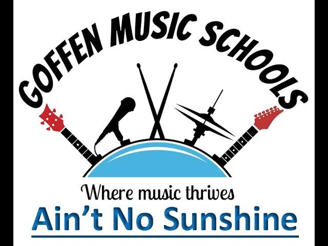 Ain't No Sunshine - Free Lesson