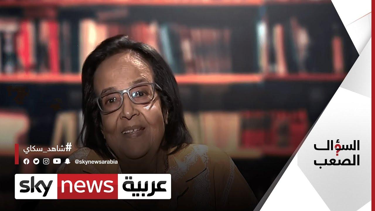 لميس جابر عن -مؤامرات- ضد مصر والأخطاء التاريخية لعبد الناصر والسادات  | #السؤال_الصعب  - 21:54-2021 / 10 / 3