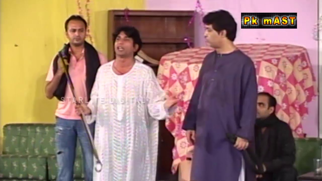 Best Of Sakhawat Naz Pakistani Stage Drama Full Funny Clip 2015 | Pk Mast