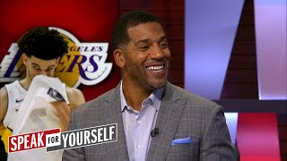 Jim Jackson on Lonzo's scoreless night in Portland, Wade's role in Cleveland | SPEAK FOR YOURSELF