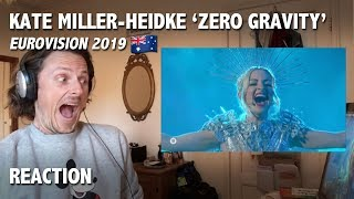 REACTION - 'Zero Gravity', Kate Miller-Heidke - Eurovision 2019 ('Australia Decides' performance)
