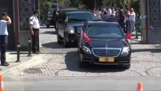 Cumhurbaşkanı ve Başbakan 15 Temmuz Şehitliği'nden Ayrıldı