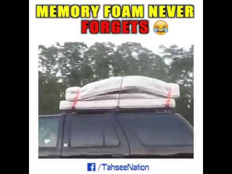 Sex on a memory foam bed