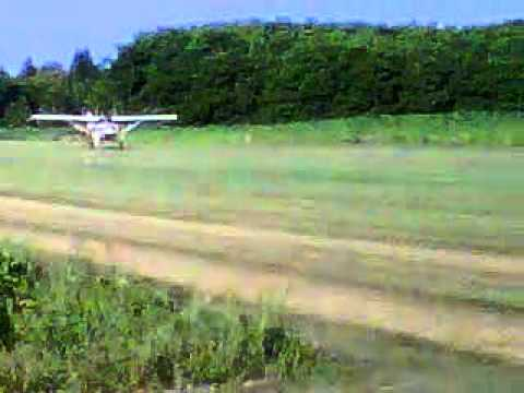 STOL Maule M5 Rocket takeoff.