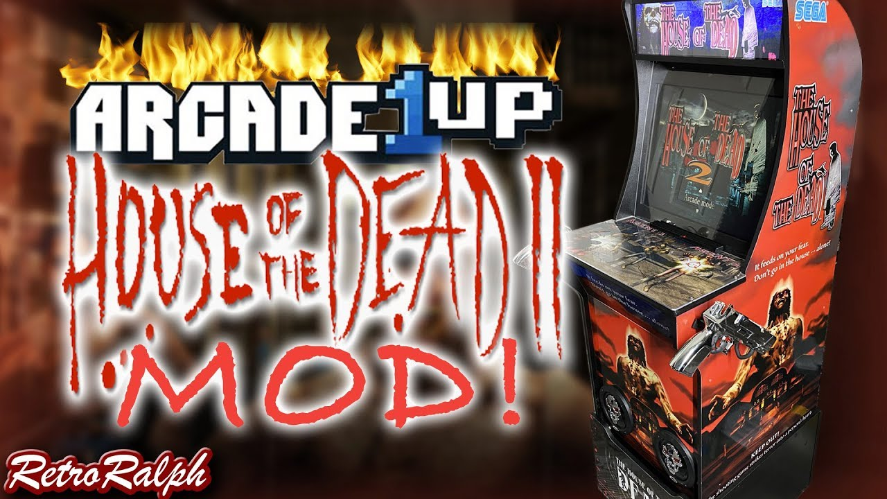 Arcade1up House Of The Dead Mod Youtube