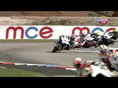 MCE Insurance British Superbike Championship - Thruxton Race 1 Highlights