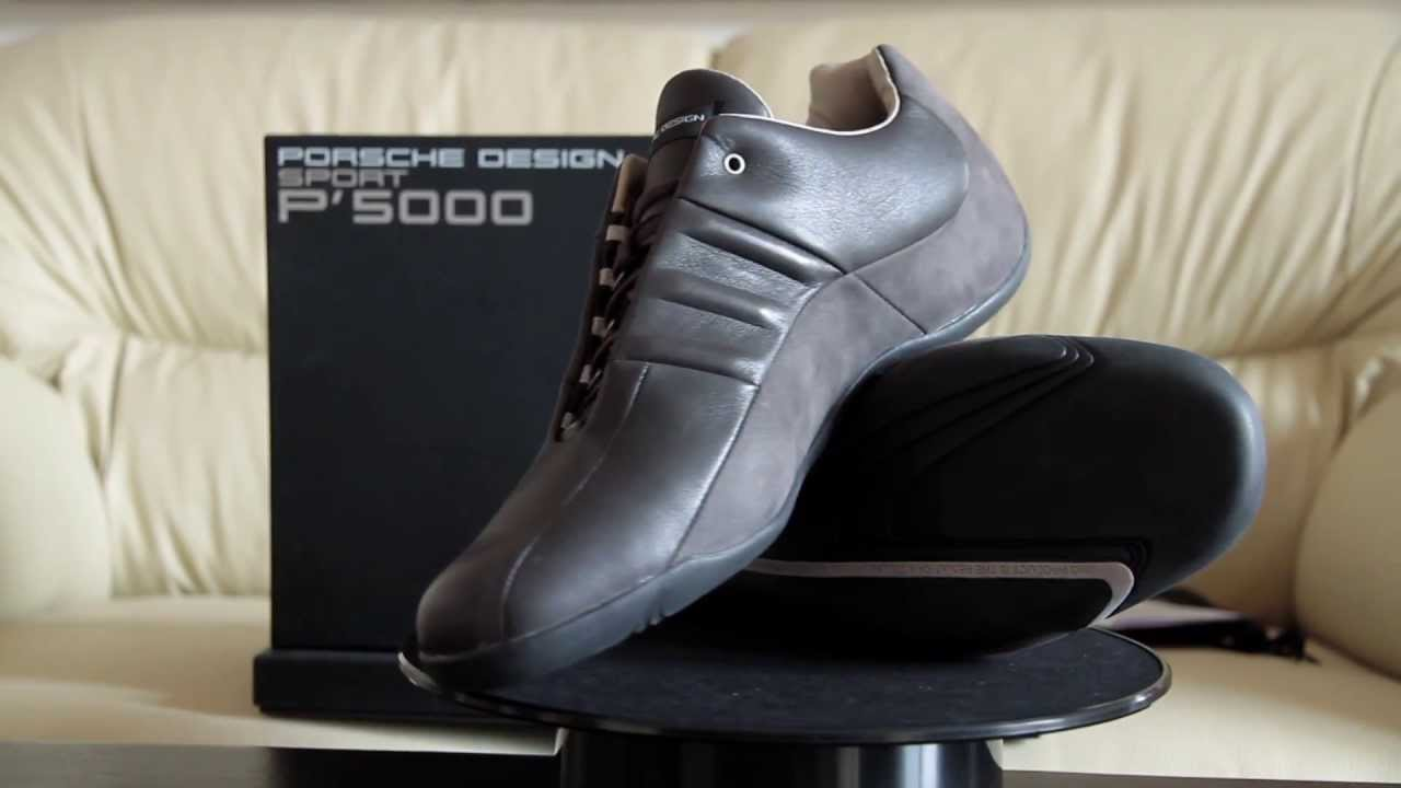 on sale 46122 5210a Adidas Porsche Design P 5000 Athletic Driver - YouTube