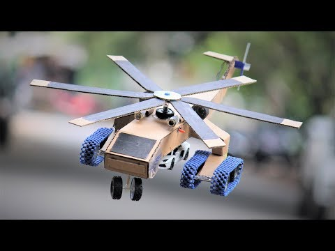 how-to-make-a-helicopter---military-airplane