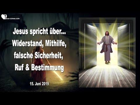 WIDERSTAND, MITHILFE, RUF, BESTIMMUNG & EIN FALSCHES SICHERHEITS-GEFÜHL,  ❤️ Liebesbrief Von Jesus