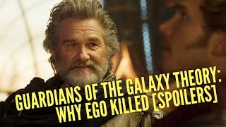 Guardians of the Galaxy Theory: The Real Reason Why EGO Killed [SPOILERS]