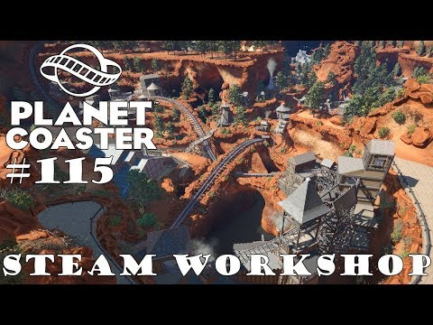 The Heist In The West 🎢 PLANET COASTER 🎠 Attraktion Vorstellung #115