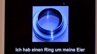 Eltons Webfund: Ring um meine Eier - das Original - TV total classic