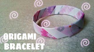 Origami Bracelet - Origami Easy