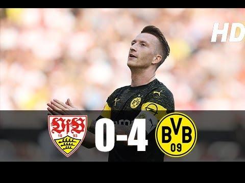Stuttgart vs Dortmund 0-4 Maç Özeti HD (20/10/2018)